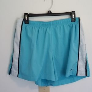 Nike turquoise athletic shorts